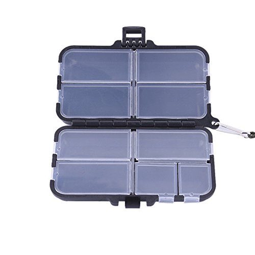 WALLER PAA Plastic Waterproof Fishing Tool Bait Tackle Storage Box/Case with Compartments