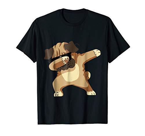 Dabbing Pug T-Shirt - Cute Funny Dog Dab T-Shirt life Pet
