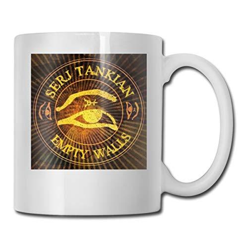 NA Serj Tankian Logo Large Mug Tea Cup Coffee Cups For Women Dad Perfect Gifts11.6 Oz
