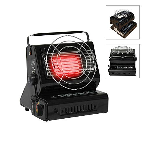 Beimaiji Trade Gas Heater,Dual-use Portable Electronic Lightweight Outdoor Gas Heater Camping Trip Butane Heater Accessories: Kitchen & Home