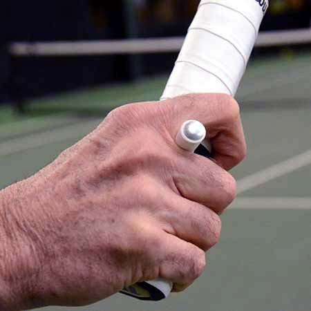 - OnCourt OffCourt Tennis Grip Trainer - Great for Teachers and Coaches / Learn the Continental Grip the Right Way
