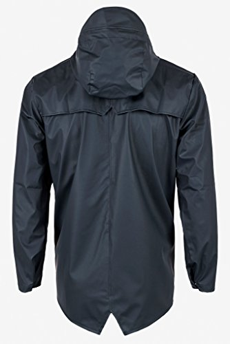Rains Waterproof Jacket Blu Uomo Impermeabile wTqvwAp