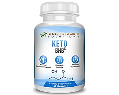 GRS Keto Thermogenic Fat BurnerSupplement with 4 Powerful Thermo Fat-Burning Exogenous Ketone Salts (Calcium, Sodium, Magnesium and Potassium). Formulated So You Can Enter Perfect Ketosis.