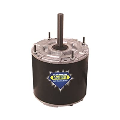 Century 9723 Multifit Condenser Fan Motor, 208 / 230 Volts, 2.0 AMPS, 1/4 TO 1/6 HP, 1,075 RPM