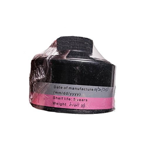 NBC 40mm Gas Mask Filter - Nato Style - Full Protection Against Chemical, Nuclear, Smoke, Smog - 5 Year Warranty
