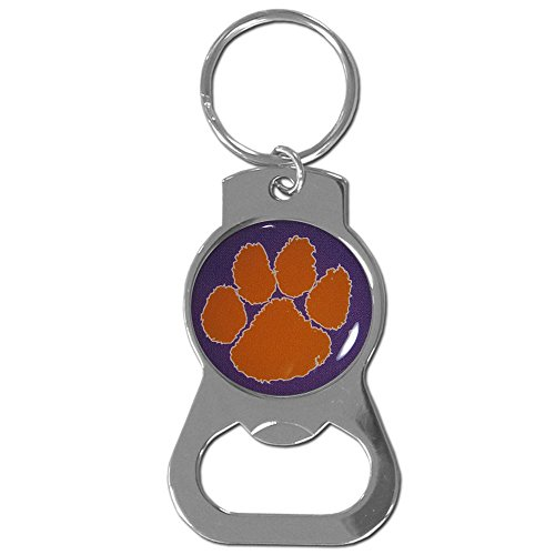 NCAA Clemson Tigers Bottle Opener Key Chain (Opener Keychain Bottle Tigers)