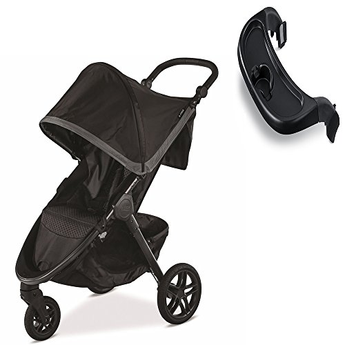 Britax B-Free Stroller, Pewter With Tray Set by Britax USA
