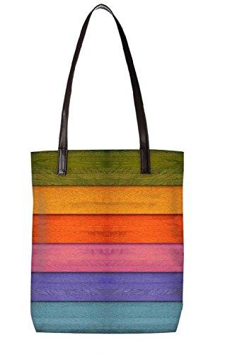 Tela bl Ltr Y totebag 3087 Playa De Bolsa Multicolor Snoogg multicolor ECwq8nq