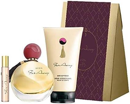 FARAWAY ESTUCHE REGALO (Agua de perfume 50ml, vaporizador bolsillo 10ml y locion corporal + caja regalo): Amazon.es: Belleza
