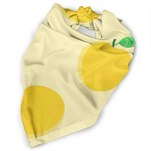 Pet Scarf Dog Bandana Bibs Triangle Head Scarfs Apple Cartoon Leaves Accessories for Cats Baby Puppy]()