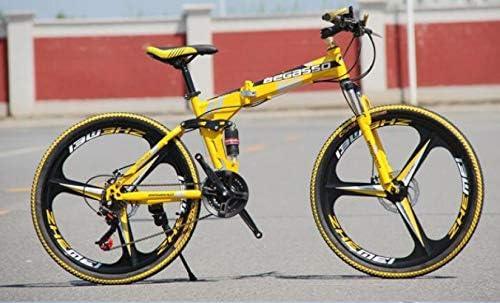 RFV Bicicleta Plegable, Doble Disco de Freno, Velocidad de Frenos ...