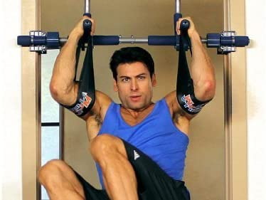Gorilla Gym Ab Straps for Pull Up Bar