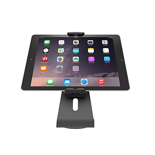 Maclocks UCLGSTDB Cling 2.0 Universal Tablet Security Stand for Tablets 7 to 13 Inch (Black) by Compulocks