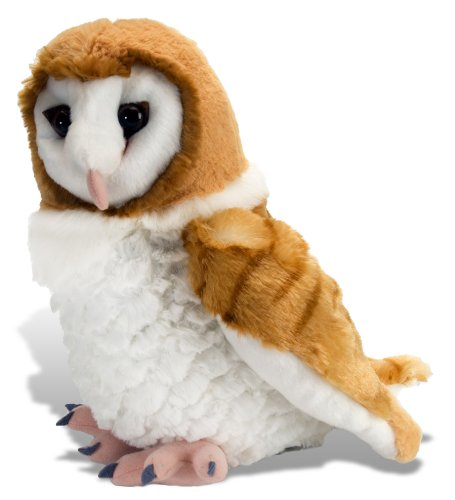 Wild Republic Barn Owl Plush, Stuffed Animal, Plush Toy, Gifts for Kids, Cuddlekins 12 Inches
