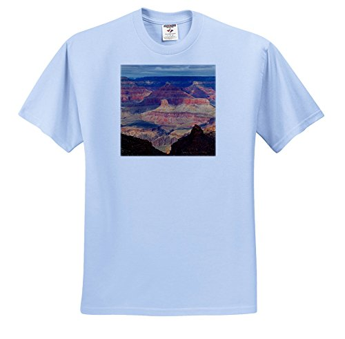 Canyon Rim 3 Light (Danita Delimont - Canyons - Arizona, Russet Tones Of The Grand Canyon Seen From South Rim - T-Shirts - Youth Light-Blue-T-Shirt XS(2-4) (TS_258705_59))