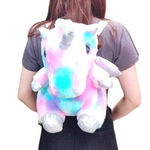 Fluffy backpack