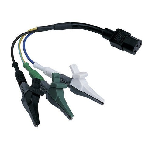 Ideal Industries 61-183 Alligator Clip Adapter for SureTest Circuit Analyzers (Analyzer Circuit Suretest)