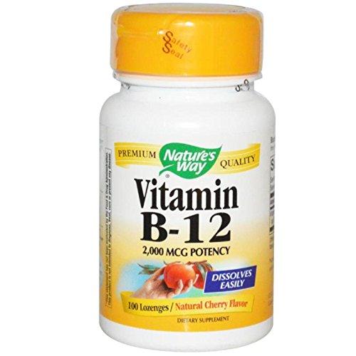 Natures Way Vitamin B-12, 100 Loz, 2000 Mcg by Natures Way