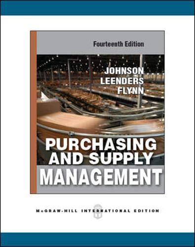 Purchasing Supply Management