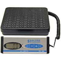 Salter Brecknell PS400 Digital Parcel Scale with LCD Display, 12-25/128 Length x 11-89/128 Width Pan, 400 lbs Capacity
