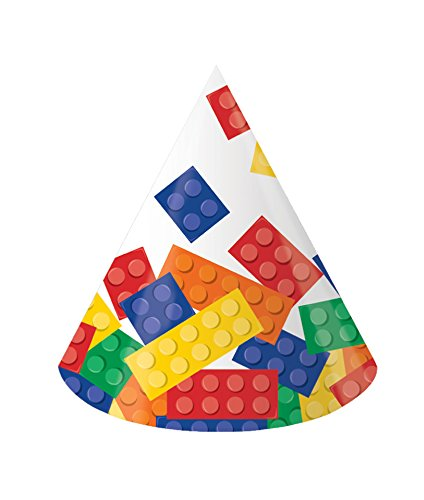 Creative Converting 8-Count Paper Party Hats, Child Size