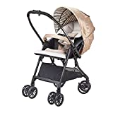 Baby Stroller, Lightweight Folding Can Sit Reclining High Landscape Landscape Can Sit Reclining Opening & Folding Lightweight Baby Stroller for Infant Convertible Baby Carriage