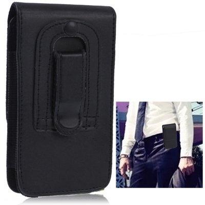 c45386c15a29 TechExpert Etui en cuir synthétique avec clip ceinture pour iphone 5 et iphone  5S