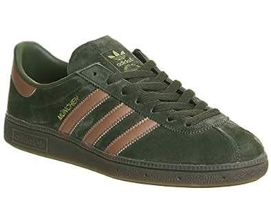 adidas Munchen CP8889, Zapatillas de Deporte para Hombre, Verde (Carnoc/Metbro / Gum5), 40 1/3 EU: Amazon.es: Zapatos y complementos