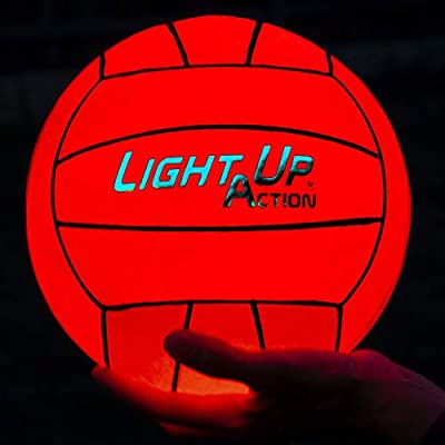 Light Up Action Volleyball Chrome Edition LED Volleyball by Light Up Action, LLC