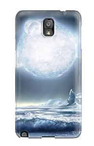 NcSpows15863BpsKq Tpu Phone Case With Fashionable Look For Galaxy Note 3 - Landscape Sci Fi by icecream design