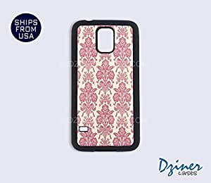 Galaxy Note 2 Case - Pink Damask