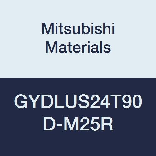 2.500 Neck 1.500 Height Mitsubishi Materials GYDLUS24T90D-M25R Series GY Modular Type Internal Grooving Holder with Right Hand M25 Modular Blade 12 Length Left Hand 90/° Angle 1.500 Width