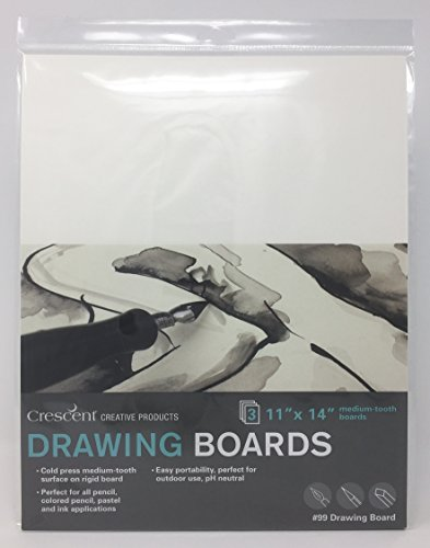 Crescent Creative Products 99-1114 Art & Illustration Drawing Board, 11