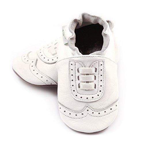 Elk Footwear (Wingtip White 6-12 mos)