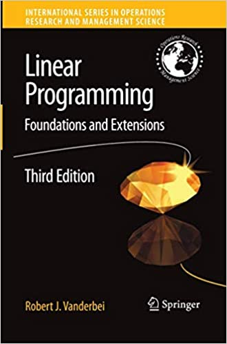 linear programming v anderbei robert j