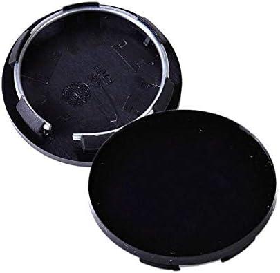 NO LOGO LMY-CHELUN 4pcs Universal 50mm Car Wheel Center Rim Hub Caps Covers Hubcap Tyre Trim Black For Toyota Ford Peugeot Honda Hyundai