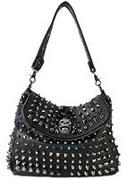 Scarleton Studded Skull Shoulder Bag H1417