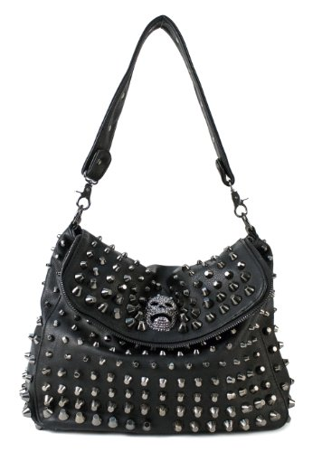 onelainsex.ml: black studded bag. From The Community. Amazon Try Prime All KARRESLY Women's Rivets Studded Shoulder Bag Black Tassel Clutch Bag Cross Body Bags. by KARRESLY. $ - $ $ 9 $ 15 99 Prime. FREE Shipping on eligible orders. Some colors are Prime eligible.