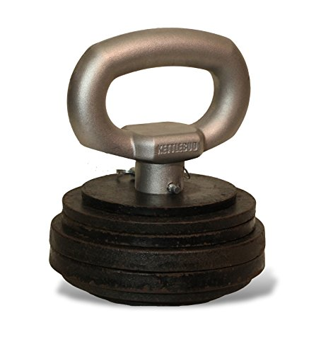 Kettlebud Adjustable Kettlebell Uses Plates (5 100+ pounds)