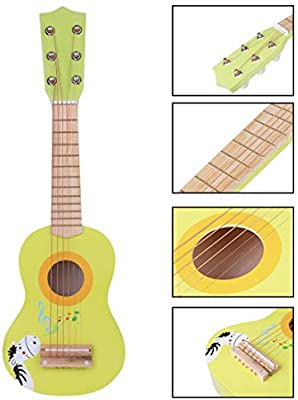 TXXCI Guitarra para Niños Guitarra Madera Guitarra De Juguete 6 ...