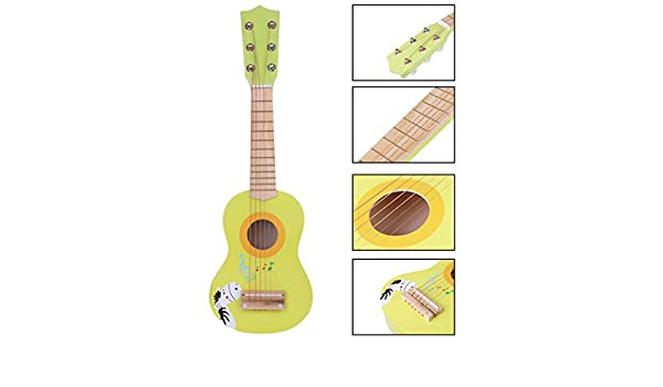 Rolanli Guitarra para Niños, 23 Pulgadas 6 Cuerdas Guitarra ...