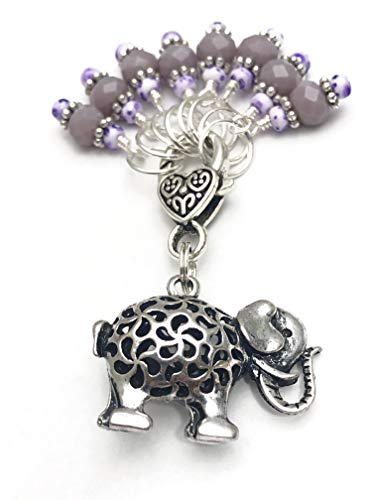 Elephant Knitting Stitch Marker Set