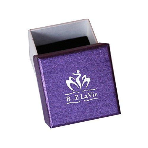 B.Z La Vie Bijoux Femme Collier Perle Nacre deau douce 9-10mm Argent Fin ... c5d42fc76bbb