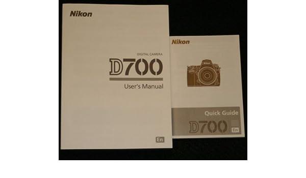 Nikon D700 User Manual Pdf