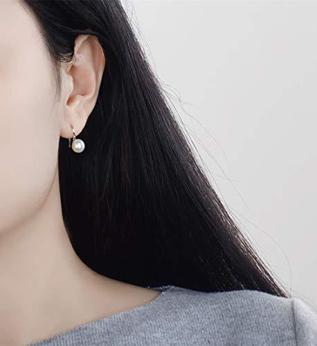Orecchini Donna D'acqua Pendenti Di Argento Dolce In Perle Naturali Perla 925 rErqP