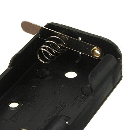 MYAMIA Pile De 3V S/érie Affaire avec Interrupteur Et C/âbl/é 2 x AA