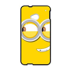 BYEB Cute horarios de minions Cell Phone Case for HTC One M7