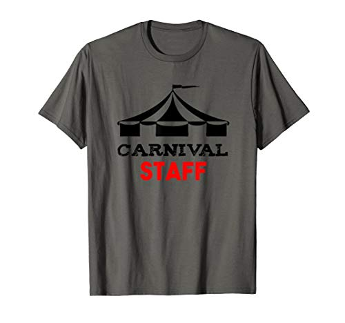 Funny Carnival Shirt Open Circus Tent Carnival Staff T-Shirt for $<!--$16.95-->