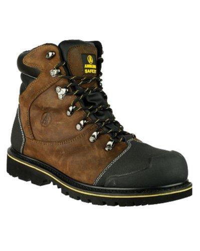 Amblers Sicherheit FS227Herren Sicherheit Boot-Spitze bis Gummisohle Schuhe Slip On Schuhe