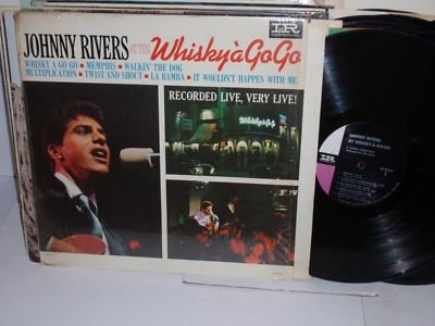 JOHNNY RIVERS at the Whiskey a Go Go LP-9264 Imperial